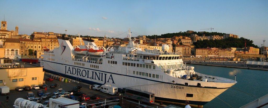 bateau italie croatie