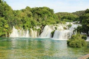 Croatie KRKA-skradinski-buk les cascades de Krka