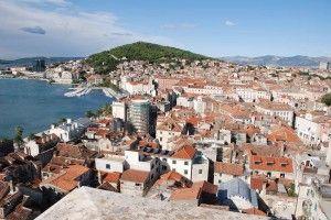 Ville de Split - panorama