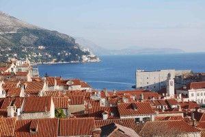 Panorama Dubrovnik old town