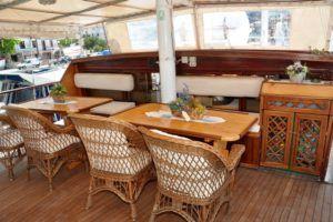 Croisière Croatie petit bateau. La Goélette Polo. Bemextours spécialiste de la Croatie