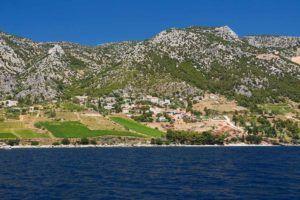 Côte de la Croatie