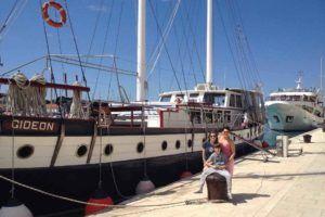 Croisière Goélette Gideon - Bemex Tours organise vos vacances sur mesure en Croatie