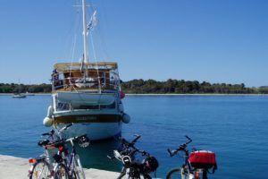 Croisière et randonnées à vélo en Croatie