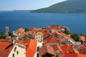 Herceg Novi baie de Kotor
