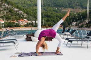 Yoga et croisière en Croatie