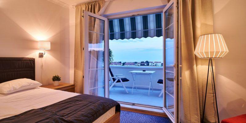 Hôtel Dubrovnik avec chambre vue mer