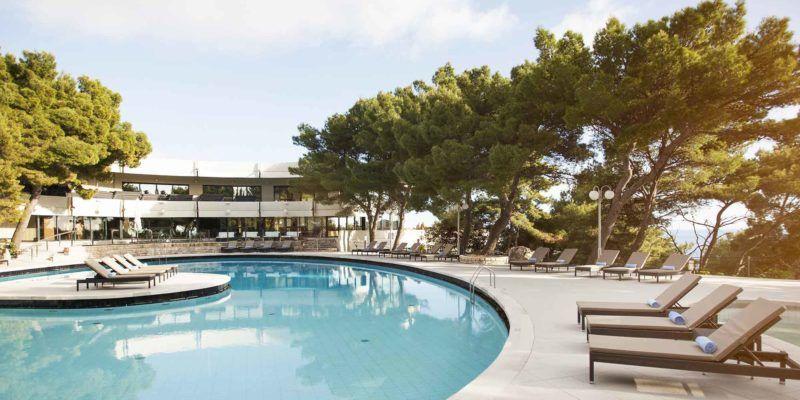 Cavtat-hôtel_Croatia-piscine extérieure