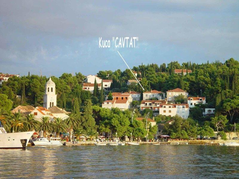 vacances en Croatie à la villa Nona, appartements de 2 à 7 personnes, avec vue