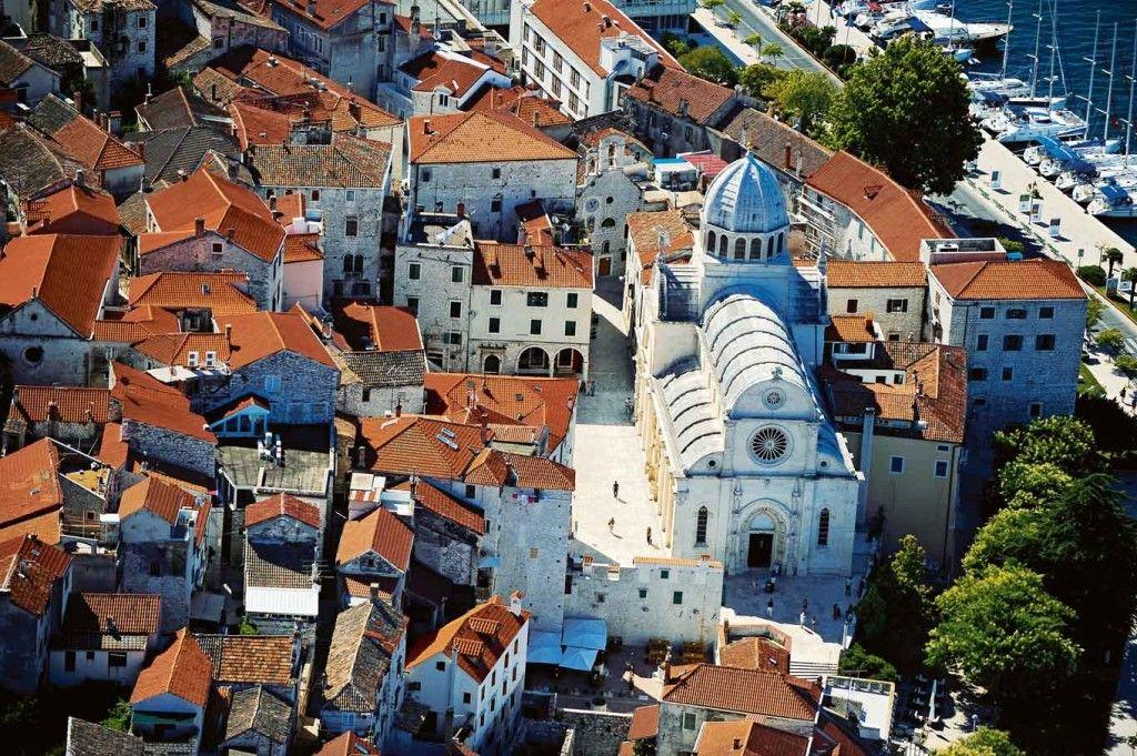 Ville de Sibenik et sa cathédrale Croatie