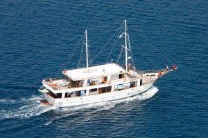 croisiere en Croatie avec Bemextours à bord de caique
