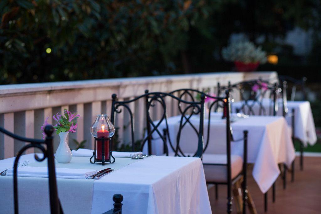 Hôtel Zagreb à Dubrovnik et son restaurant