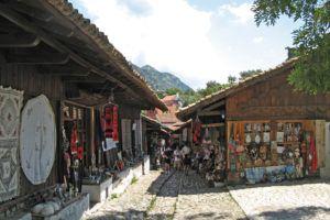 Kruje Albanie