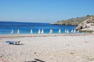 Llaman beach Albanie