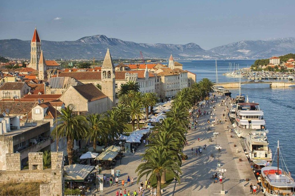 Ville de Trogir Croatie
