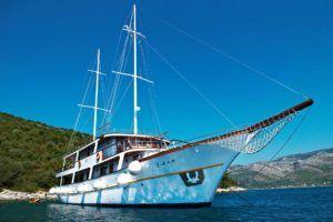 Croisière en Croatie, Croisière en caïque premium, Split Dubrovnik