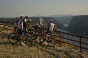 Vélo, parc Krka, Croatie