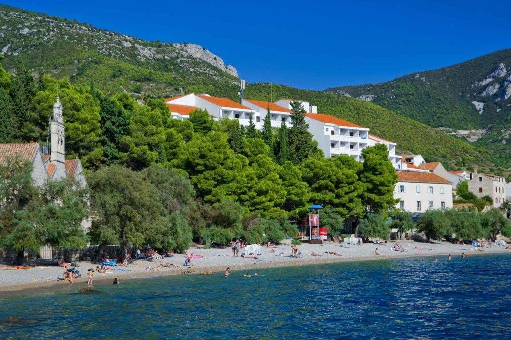 Hôtel sur l'île de Vis en Croatie