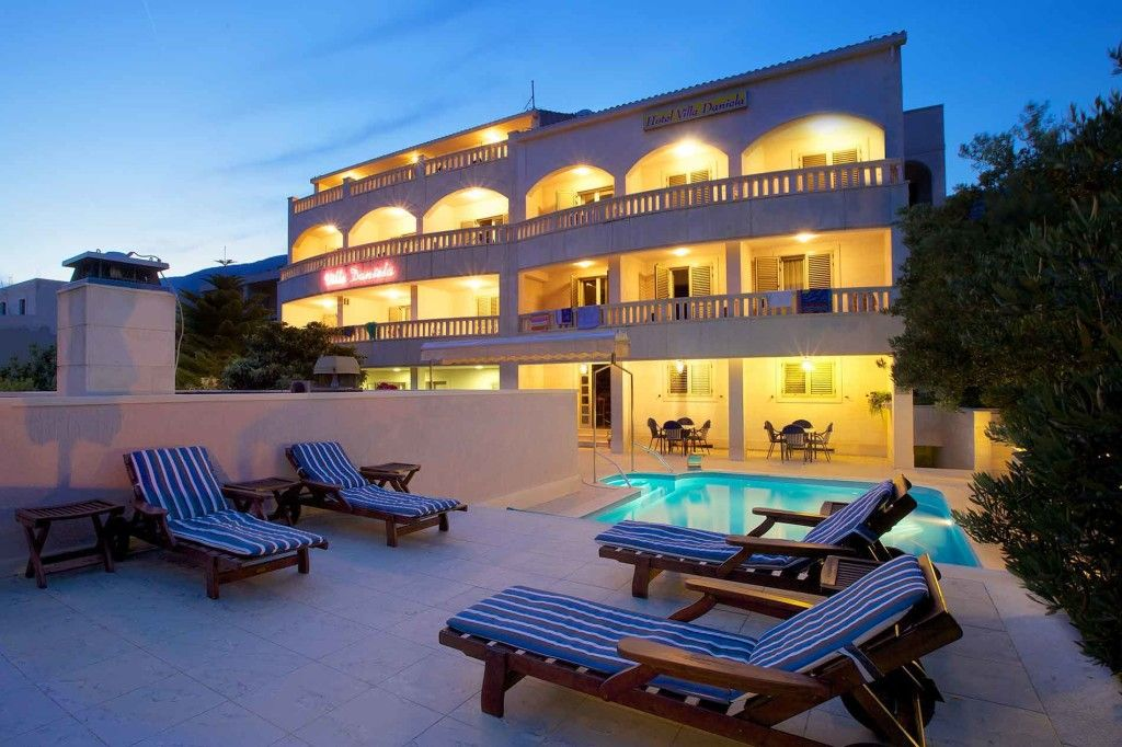Bol, hôtel Villa Daniela 3 étoiles