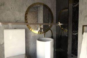 Salle de bain Agape Rose