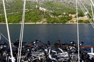 Croisière et randonnée à vélo en Croatie
