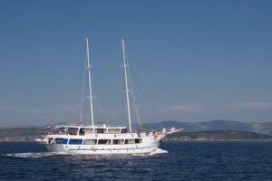 Adriatic Queen, vue extérieure du bateau