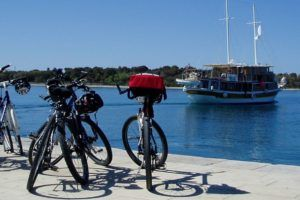 Vélo et croisière en Croatie