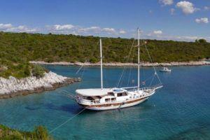 Croisière sur petit bateau Croatie