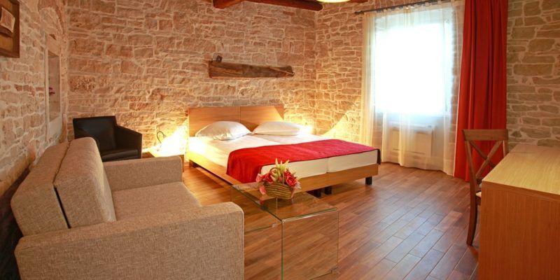 Hôtel familial en Istrie