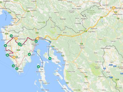 A13. Autotour Essentiel d'Istrie-Kvarner