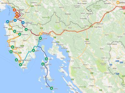 A16. Autotour, Les Trois Istries : Italie, Slovénie, Croatie