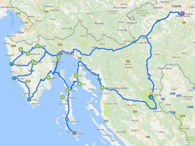 A19. Autotour Essentiel d'istrie-Kvarner & Plitvice ou Rivage de l'Adriatique Nord