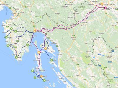 A45. Autotour - Le Kvarner d'îles en îles : Losinj, Cres & Krk