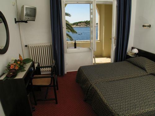 hôtel chambre vue mer île de Hvar