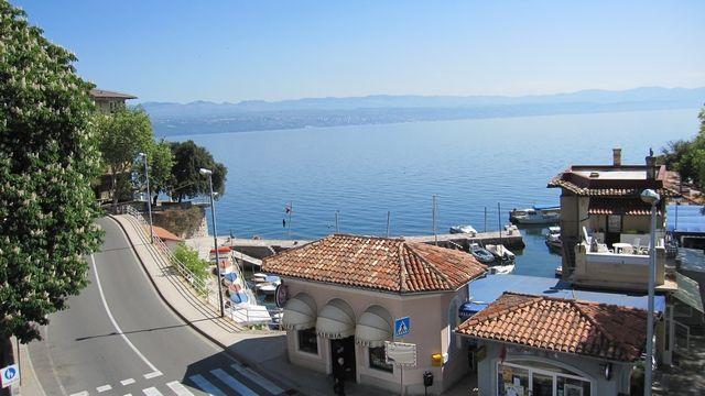 hôtel avec chambres vue mer croatie